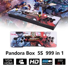 999 in 1 Pandora Box 5s Retro Video Games Double Stick Arcade Console Light: $132.69 End Date: Friday Apr-27-2018 10:10:28 PDT Buy It Now…