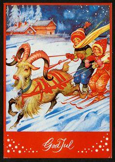 Julkort av Helge Artelius