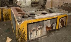 Roman Era, Roman City, Stonehenge, Luxor, Naples, Fresco, Canard Colvert, Food Counter, Egypt