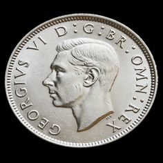 1946 George VI Silver Two Shilling Coin / Florin – EF