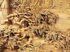 Wooden art....