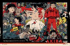 x Akira Manga Mania Retro Canvas Movie Poster Artwork Kaneda Anime Akira Poster, Hd Anime Wallpapers, 1080p Wallpaper, Adhesive Wallpaper, Cyberpunk, Hayao Miyazaki, Neon Genesis Evangelion, Godzilla, Anime Rock
