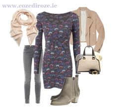 Bethany Tunic : http://cozediroze.ie/index.php/product/new-grey-floral-bethany-tunic/