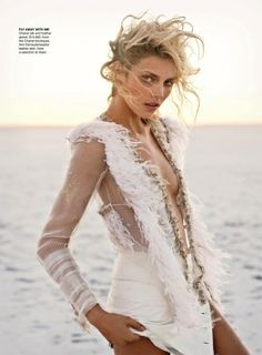 Anja Rubik for Vogue Australia April 2011 by Marcin Tyszka - Google Search