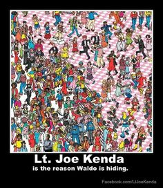 Lt joe kenda, waldo, homicide hunter