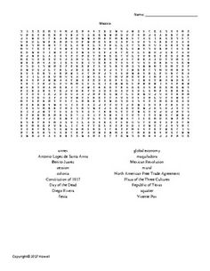 human geography vocabulary word search for middle school geography middle school geography. Black Bedroom Furniture Sets. Home Design Ideas