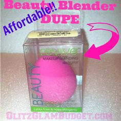 Affordable Beauty Blender DUPE (Revive Beauty PRO Makeup Sponge VS Beauty Blender)