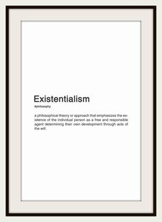 """fyp-philosophy: """"Existentialism is a term applied to the work of certain late and philosophers who, despite profound doctrinal differences, shared the belief that philosophical. Philosophy Theories, History Of Philosophy, Philosophy Books, Western Philosophy, Peace Quotes, Poem Quotes, Words Quotes, Life Quotes, Existentialism Quotes"""