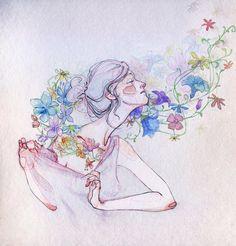 Por Amor al Arte: Anatomía del cuerpo humano ilustraciones de Adara Sánchez