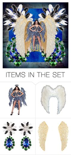 """STUNNING ANGEL!"" by kksnanny ❤ liked on Polyvore featuring art"