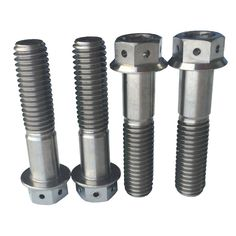 Titanium Bolts with Double Hex Flange Head,Titanium Hex Head Bolts, Hex Flange Head Bolts, Cheese Head Bolts, Socket Head Screws, Slotted Screws, Button Head Bolts,titanium fasteners, which include titanium bolts,titanium screws,titanium nuts and ... M10 Titanium Flanged Hex Bolts With Nylocs Nut 1.CP & Titanium Alloy Titanium Bolts/Screws/Nuts