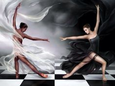 Dancing tells Stories... Which is why I love it. Good VS Evil is the story of this one
