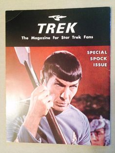 Items similar to Trek Special : The Magazine for Star Trek Fans Issue No. 2 - Special Spock Issue on Etsy Series Movies, Tv Series, New Star Trek, Star Trek Series, Paramount Pictures, Spock, Deep Space, For Stars, Live Action