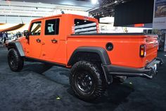 The 2017 Jeep Truck is the featured model. The 2017 Jeep Truck 4 Door image is added in the car pictures category by the author on Jun Jeep Wrangler Pickup Truck, Jeep Wrangler Diesel, Aev Jeep, Jeep Brute, 2013 Jeep Wrangler, Jeep Rubicon, Pickup Trucks, Ford Trucks, Easter Jeep Safari