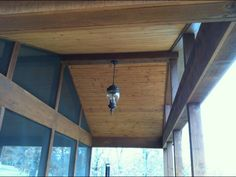 Custom screened in porch with tongue & groove vaulted ceiling, Lowell AR