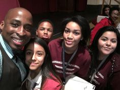 Sending #PositiveVibes from #MarshallMiddle in #WichitaKS We had a great time! & a #PhotoBomb