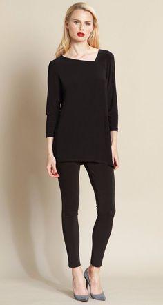 bc699d9a1e0 Clara Sun Woo Angle Neckline Side Vent Tunic #ClaraSunWoo #Tunic Angles,  Normcore,