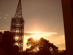 Atardecer desde el cable Capital City, Empire State Building, Rio, National Parks, Cable, Travel, Xmas, Towers, Cities