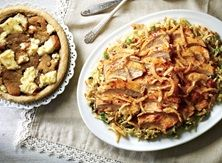 Quick Roasted Garlic Chicken & Rice with Cookie Cheesecake Pizza - Publix Aprons Simple Meals Chicken Flavored Rice, Chicken Rice, Garlic Chicken, Chipotle Chicken, Lunch Recipes, Dinner Recipes, Cooking Recipes, Publix Aprons Recipes, Canned Butter
