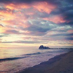 Peniscola Beach at Sunrise_ Spain
