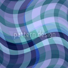 Tartan pattern with waves, designed by Sergio Delunardo, available as a download vector file on patterndesigns.com