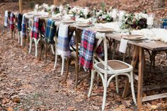 winter weddings - photo by Carography Studios http://ruffledblog.com/georgia-woodland-wedding-inspiration