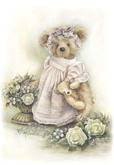 Toys Cartoon Vintage Dolls Ideas For 2019 My Teddy Bear, Cute Teddy Bears, Tatty Teddy, Love Pictures, Vintage Pictures, Photo Ours, Art D'ours, Illustrations Vintage, Etiquette Vintage