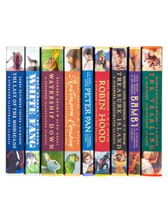 Complete Scribner Illustrated Childrens Classics (Set of 9) by Juniper Books LLC at Gilt