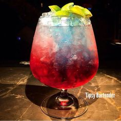 Cold Blood Cocktail - For more delicious recipes and drinks, visit us here: www.tipsybartender.com