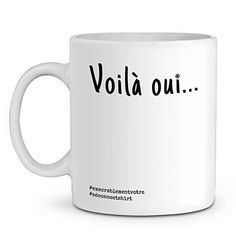 Mug En Céramique - Voilà Oui... - Zé Connect Shirt