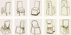 Handcreative by Alysha: МК по пошиву чехлов для стульев!