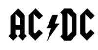 Being an original and popular band, AC/DC has a great logotype design. Check out all versions of the AC/DC logo and what they meant. Rockband Logos, Band Logo Design, Malcolm Young, Rock Poster, Music Logo, Music Lyrics, Classic Rock, Music Bands, Rock Music