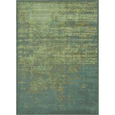 Royalty Sea/ Blue Rug (7'7 x 10'5)   Overstock.com 504.99