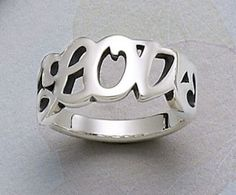 "James Avery Jewelry | Love"" Ring from James Avery Jewelry #jamesavery 