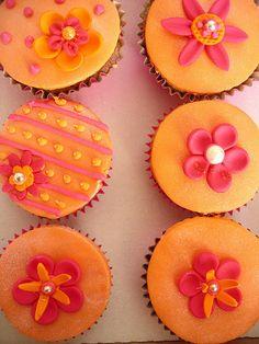 Fiesta cupcakes by nice icing, via Flickr
