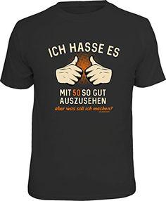 Dieses T-Shirt passt perfekt für den Geburtstag!  #Geburtstag #Birthday #Party #Feiern #HappyBirthday #Spruch #Werbung #50er Herren T Shirt, Humor, Mens Tops, Party, Motivation, Box, Design, Funny Vacation, Snare Drum