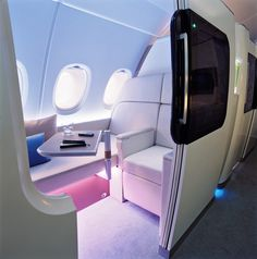 Now that looks like the way to travel, it also looks VERY expensive!  Airbus A380