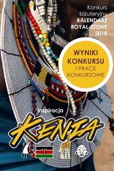 Kalendarz 2018 | Royal-Stone blog Friendship Bracelets, Vogue, Beads, Stone, Blog, Jewelry, Kenya, Beading, Rock