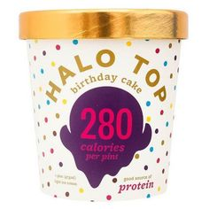 Before You Buy Halo Top Birthday Cake Ice Cream Check Out 1727 Influenster Reviews Sophia A Said Is The Perfect Low Calorie Treat