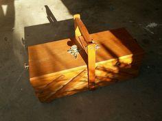 SCHAERF - Wooden cantilevered storage box