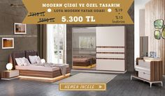 Modern Tasarım Loya Modern Yatak Odası Takımını görmek ve özel fiyat avantajı için sizleri mağazamıza davet ediyoruz...  Tarz Mobilya | Evinizin Yeni Tarzı '' O '' 0216 443 0 445  whatsapp : +090 532 722 47 57