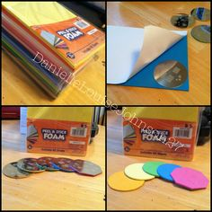 Use adhesive craft foam to put behind nail stamping plates to prevent from slipping while in use. $6 at Walmart! ;)