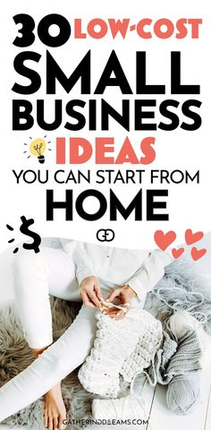 Best Business To Start, Small Business From Home, Best Small Business Ideas, Home Based Business, Low Cost Business Ideas, Trending Business Ideas, Home Business Opportunities, Starting A Business, Business Tips