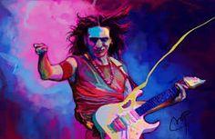 Image result for steve vai Steve Vai, Joker, Rock, Image, Fictional Characters, Art, Art Background, Skirt, Kunst