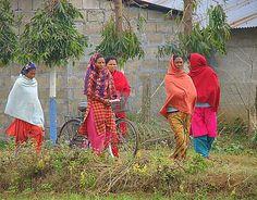 In the village, Chitwan, Nepal