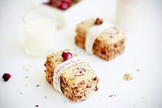 Cranberry Rose Cookies | Flickr  bossacafe