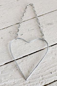DIY Button Heart Keepsake - Tidbits