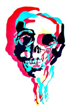 pop skull art Pix Art, Skulls And Roses, Skull Art, Bones, Artsy, Ear Rings, Art Prints, Skeletons, Sticks