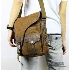 Vertical european messenger, khaki mens shoulder bag, messenger bag for college…