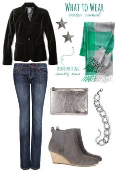 What to Wear: Winter Casual | The Sweetest Occsaion